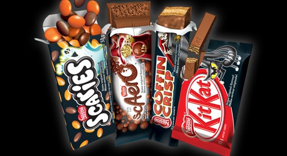 Nestle Craveyard choclate bars