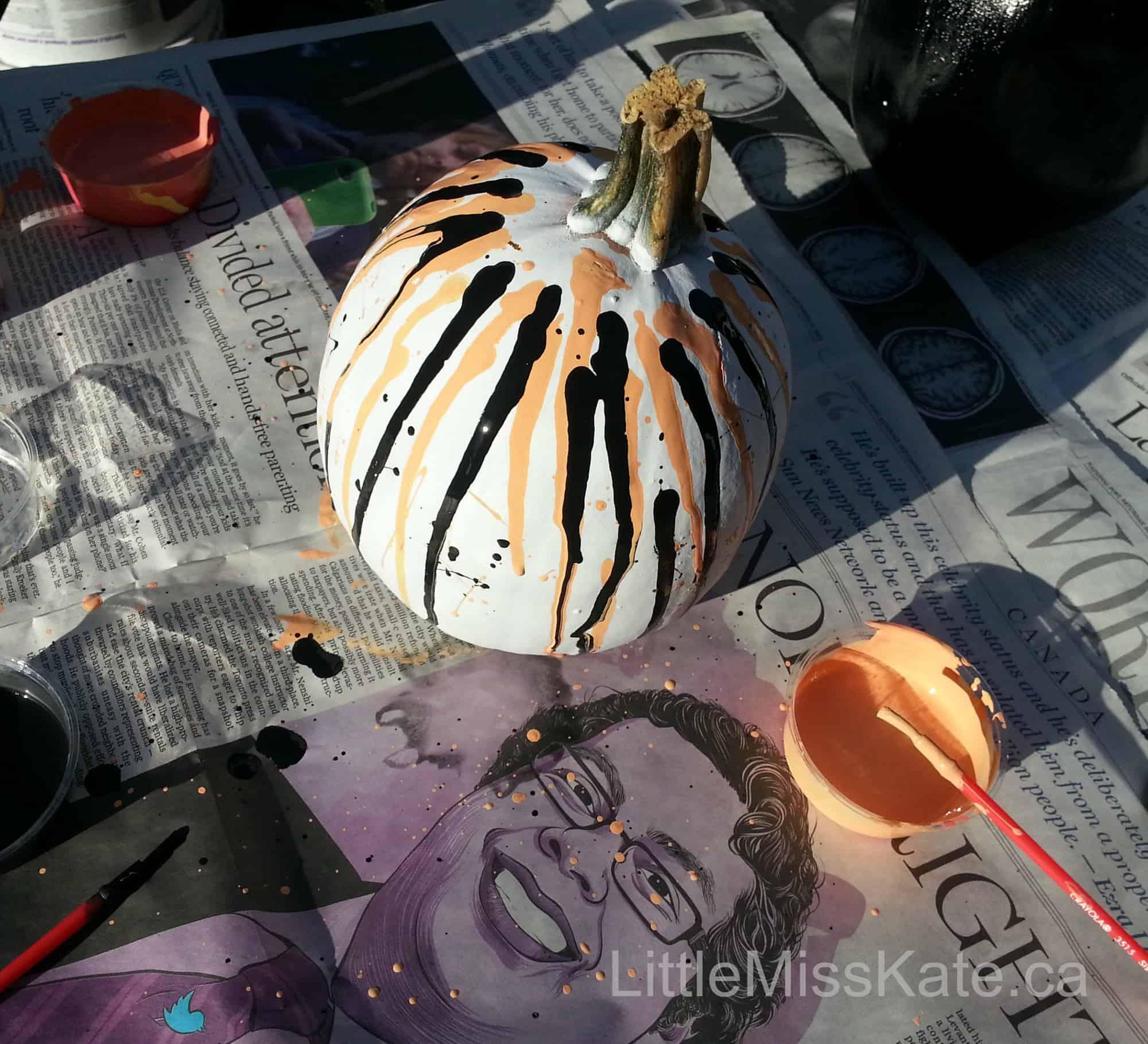 Pumpkin Decorating Ideas - Painted Pumpkins