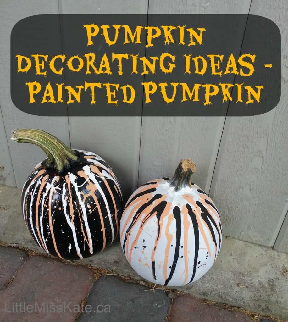 Pumpkin Decorating Ideas Painted Pumpkins Little Miss Kate