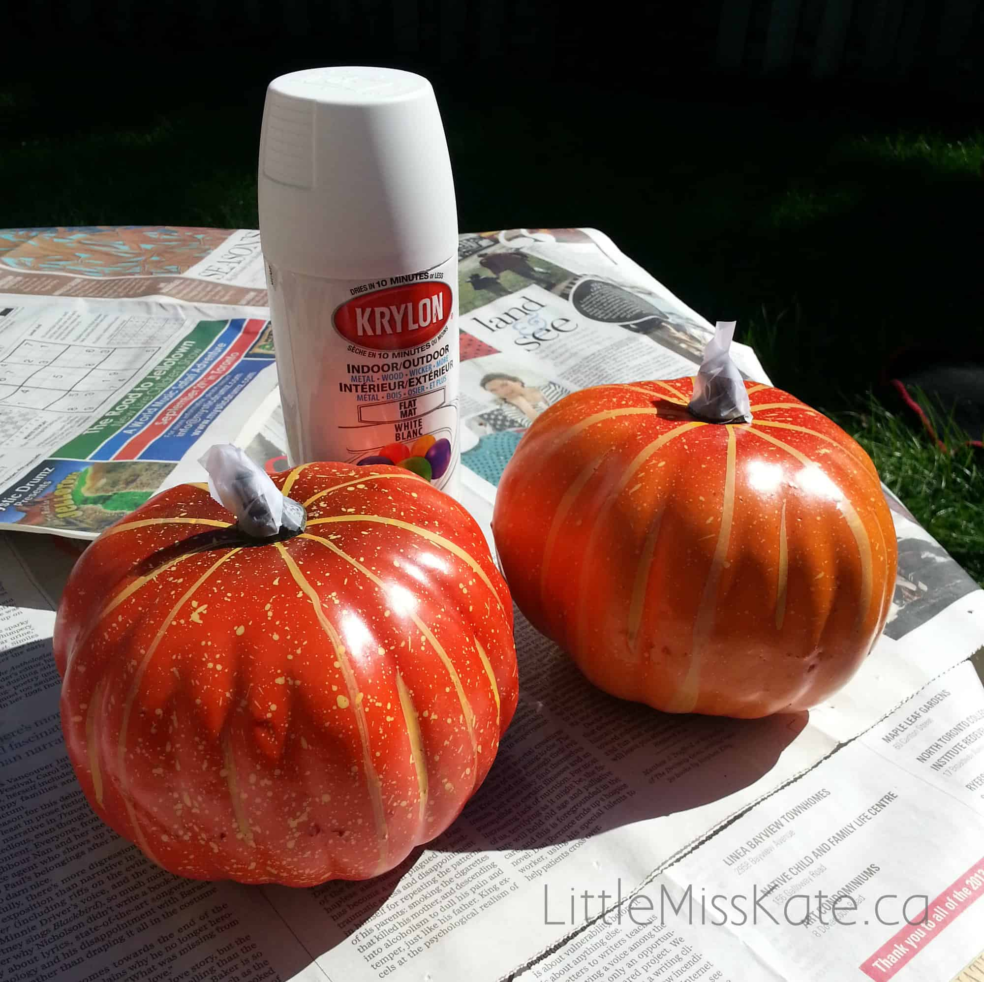 Pumpkin decorating ideas Mummy pumpkin 1