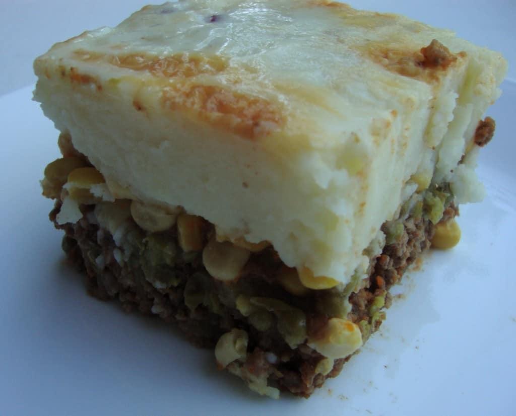 VH Sauces Twist on Shepherd's Pie