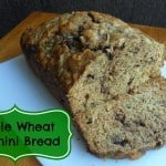 Whole Wheat Zucchini Bread {Recipe}