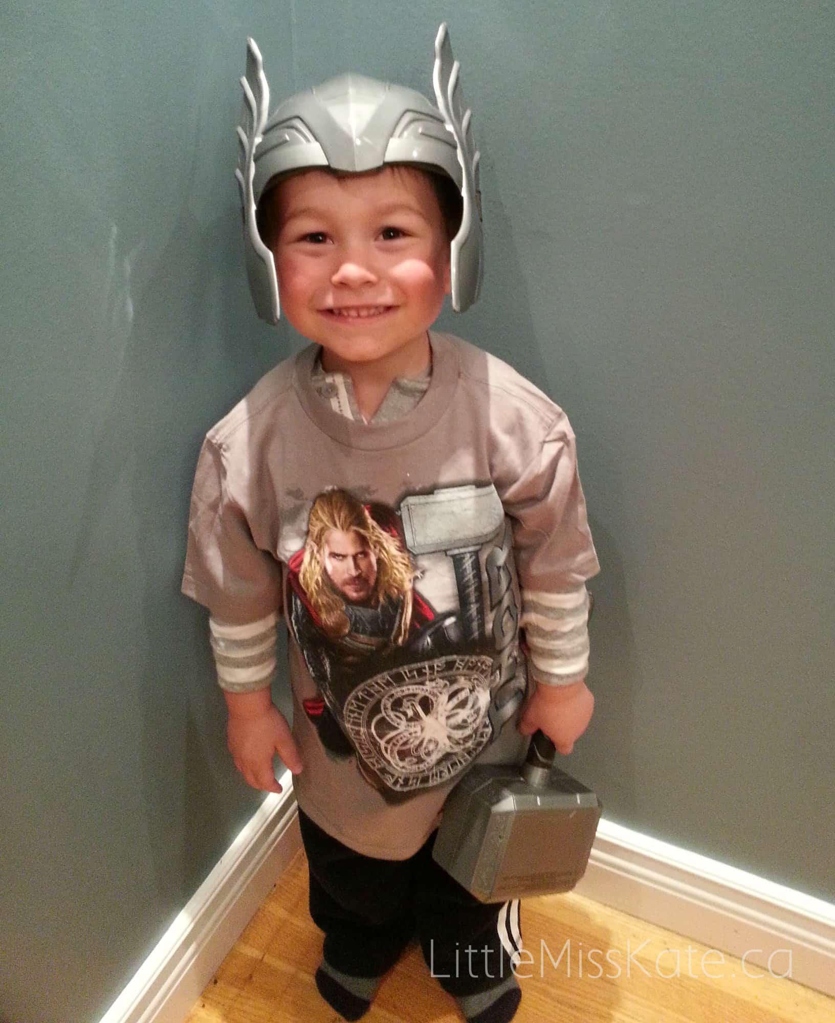 easy halloween costume thor hasbro