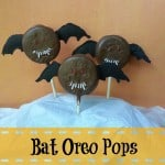 Halloween Treats: Bat Oreo Pops {Recipe}