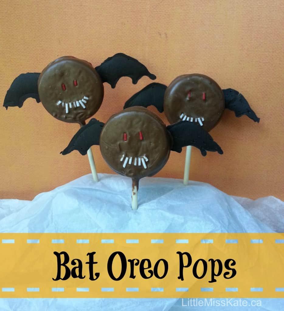 halloween treats bat oreo pops 5
