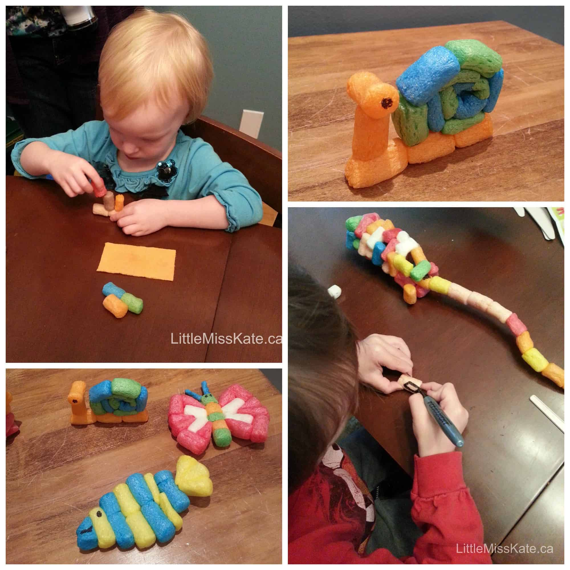 Construction party games activities Playmais