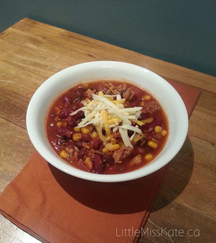 Slow cooker chili recipe 1