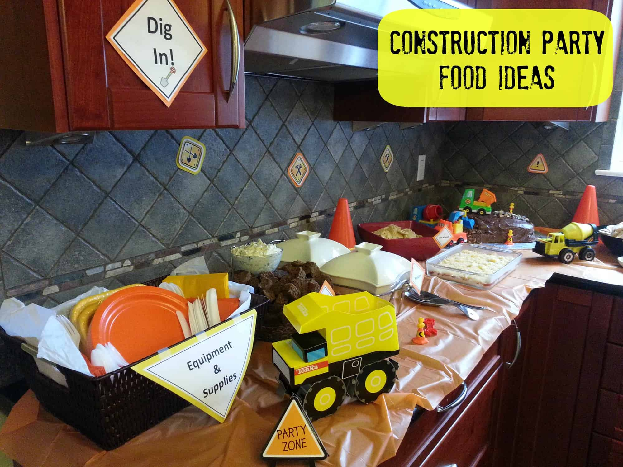 Construction Birthday Party Food Ideas 3