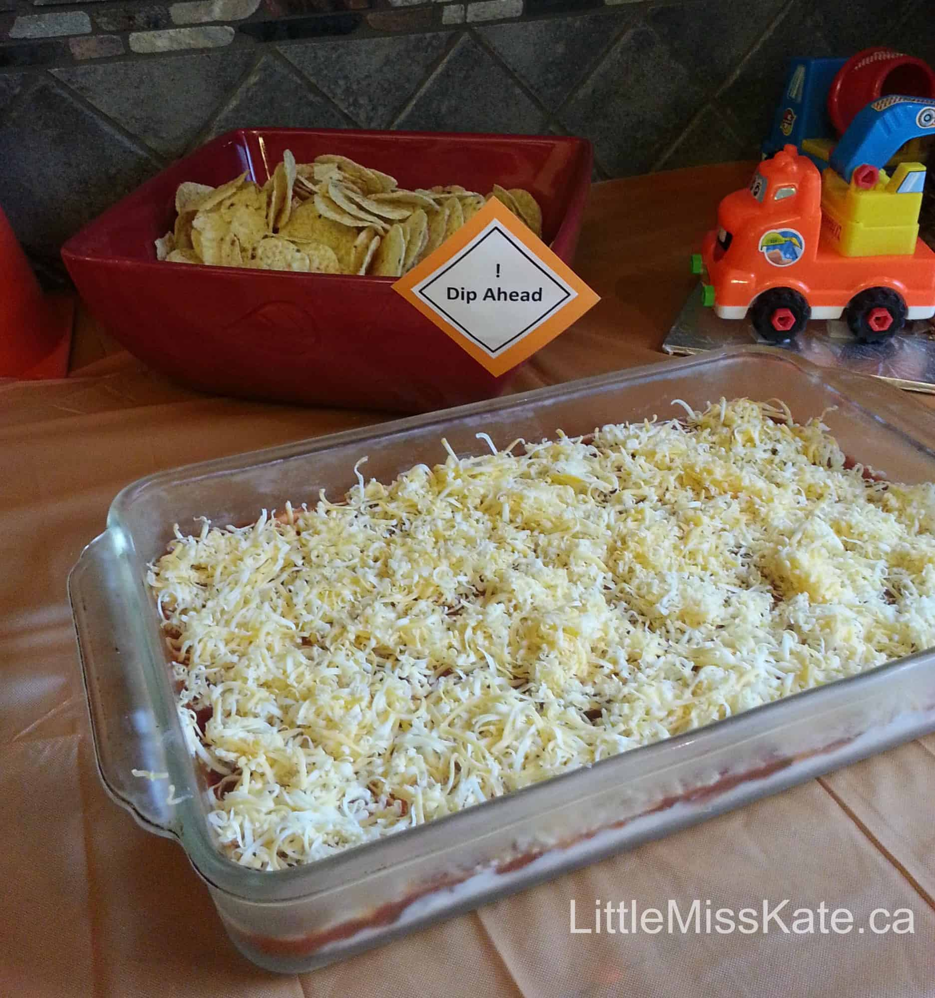 Kids Birthday Party Ideas: Food For A Construction