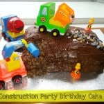 Birthday Party Ideas: Construction Party Birthday Cake