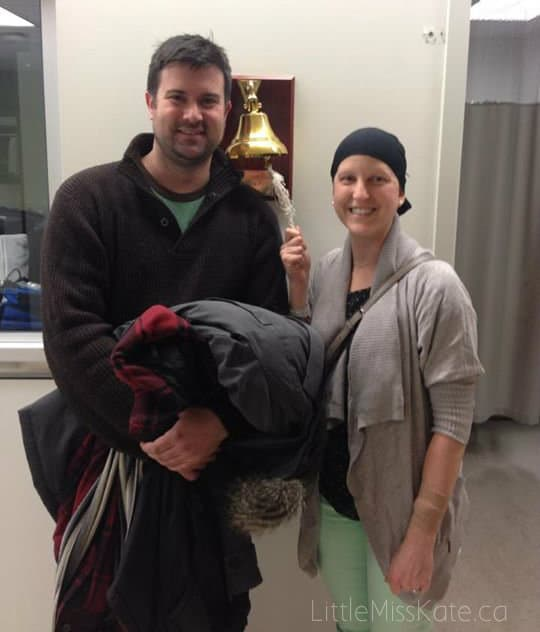PMH Ring the bell end of cancer treatment