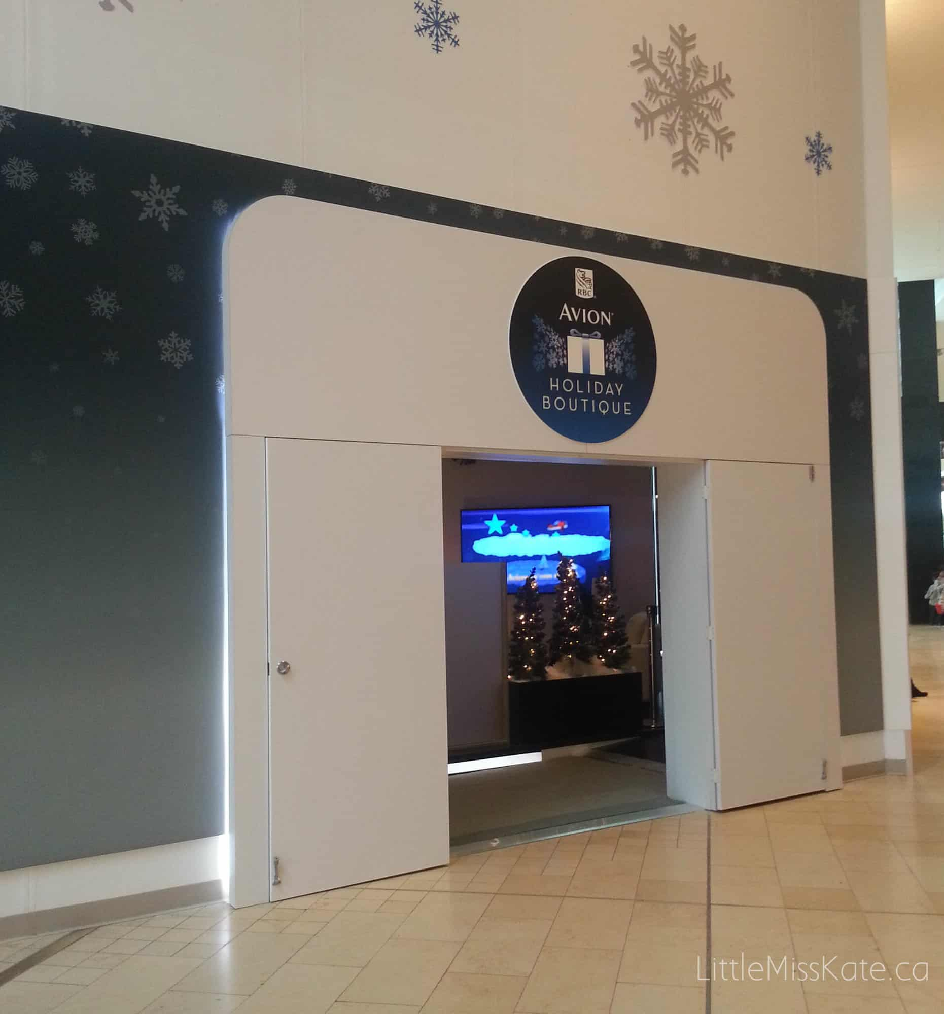 RBC Avion Holiday Boutique Yorkdale 1