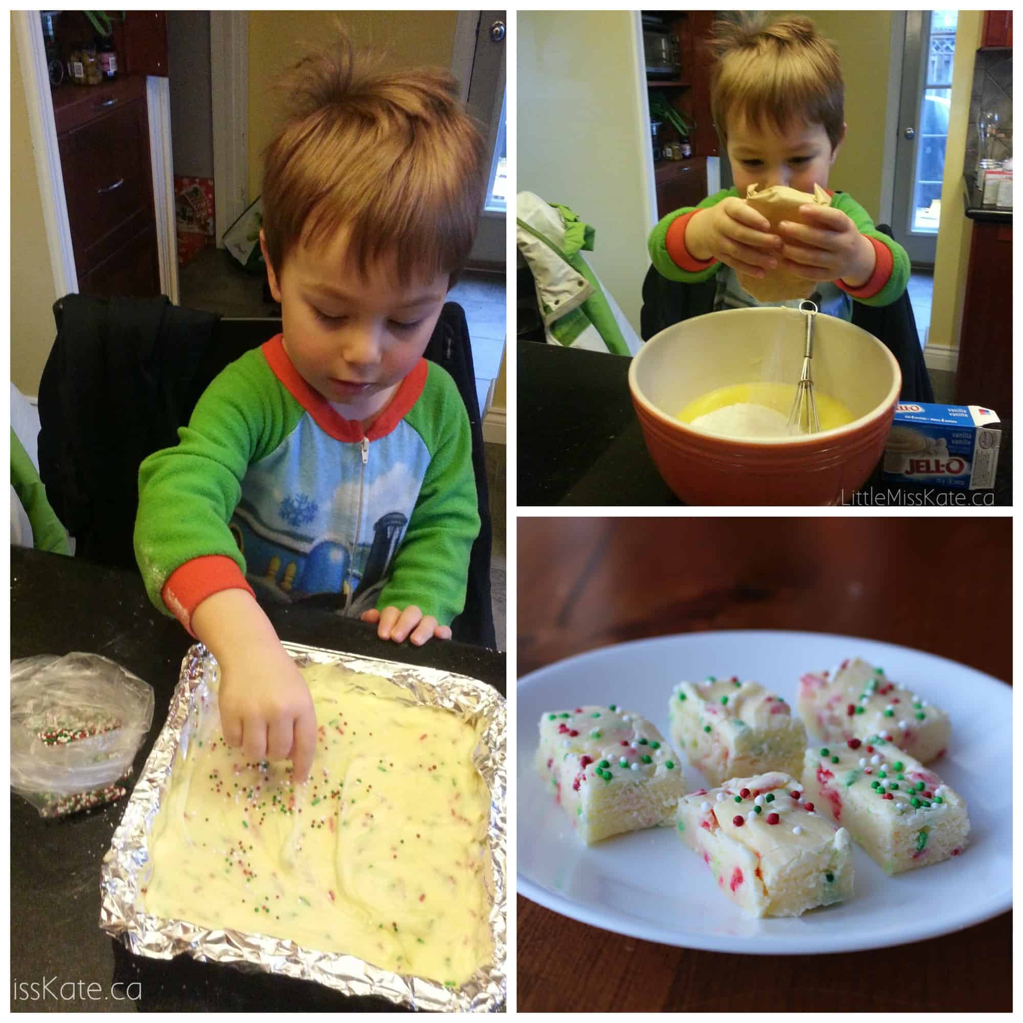 easy baking exchange recipes - christmas vanilla fudge recipe 3