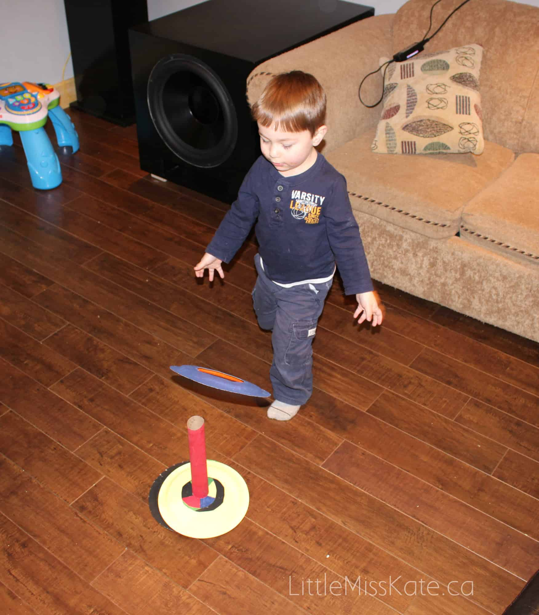 Crafts for Preschoolers - Olympic Ring Toss Game 5