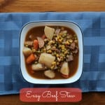 Slow Cooking My Way Through Winter – Easy Beef Stew #whatscooking