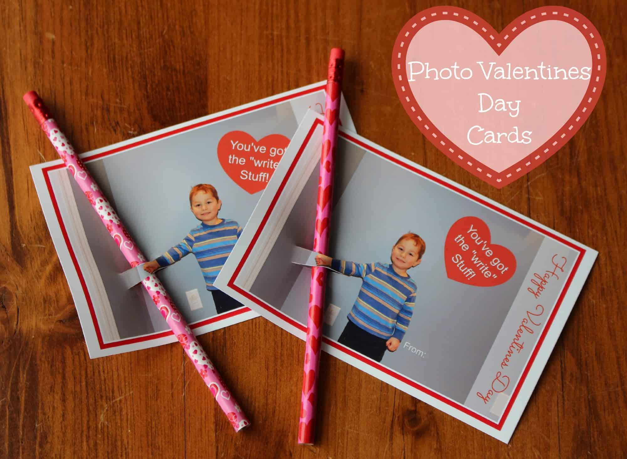 DIY Valentine's with Pencil Gift via LittleMissKate.ca