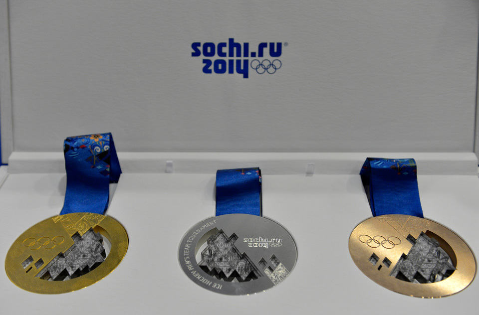 Sochi 2014 Olympic Medals