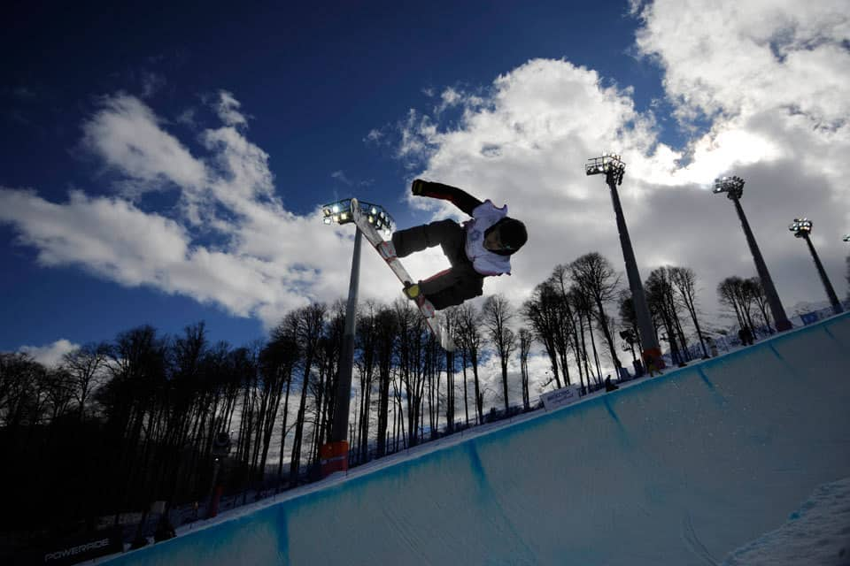 Sochi 2014 Olympics Snowboard