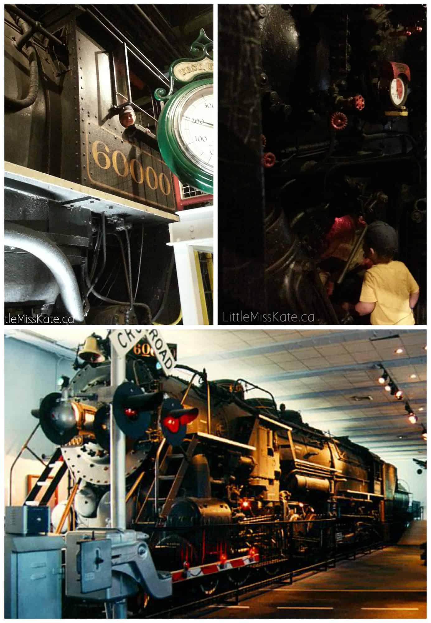 The Franklin Institute train