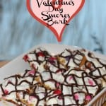 Valentine's Day Smores Bark {Recipe}
