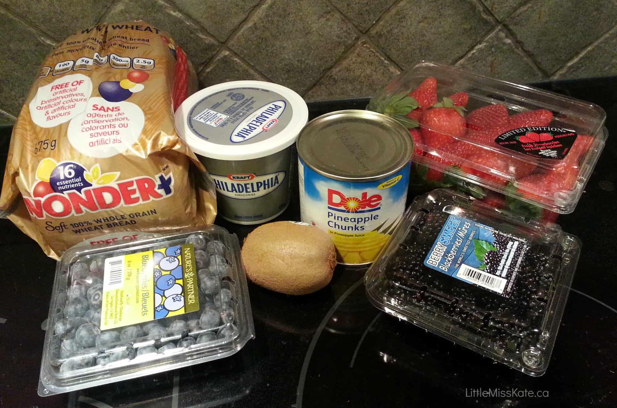 Olympic food ideas Olympic Toast via LittleMissKate.ca