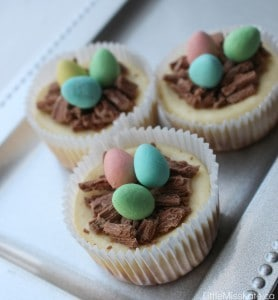 Easter Egg Mini Cheesecake