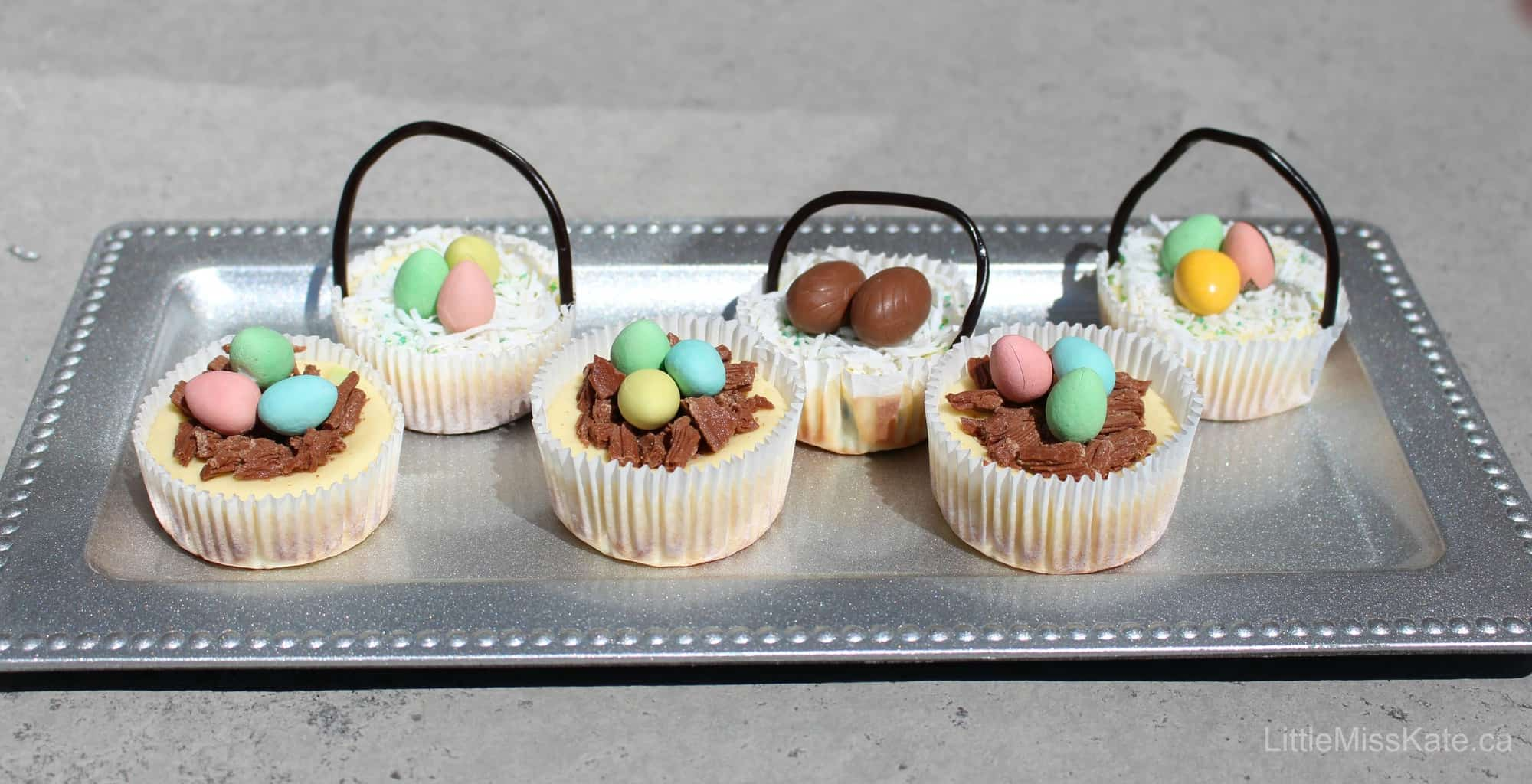 Easter dessert Easy Mini Cheesecake Recipe 4