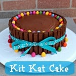 Birthday Cake Ideas – Kit Kat Cake {Recipe}
