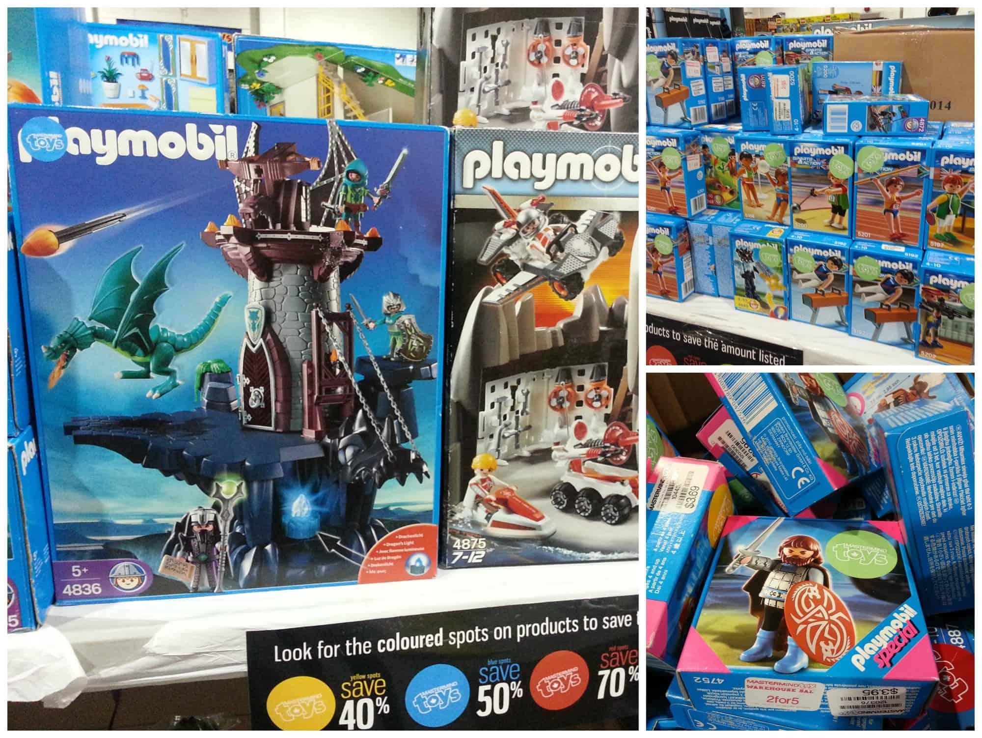 2014 mastermind toys warehouse sale playmobil