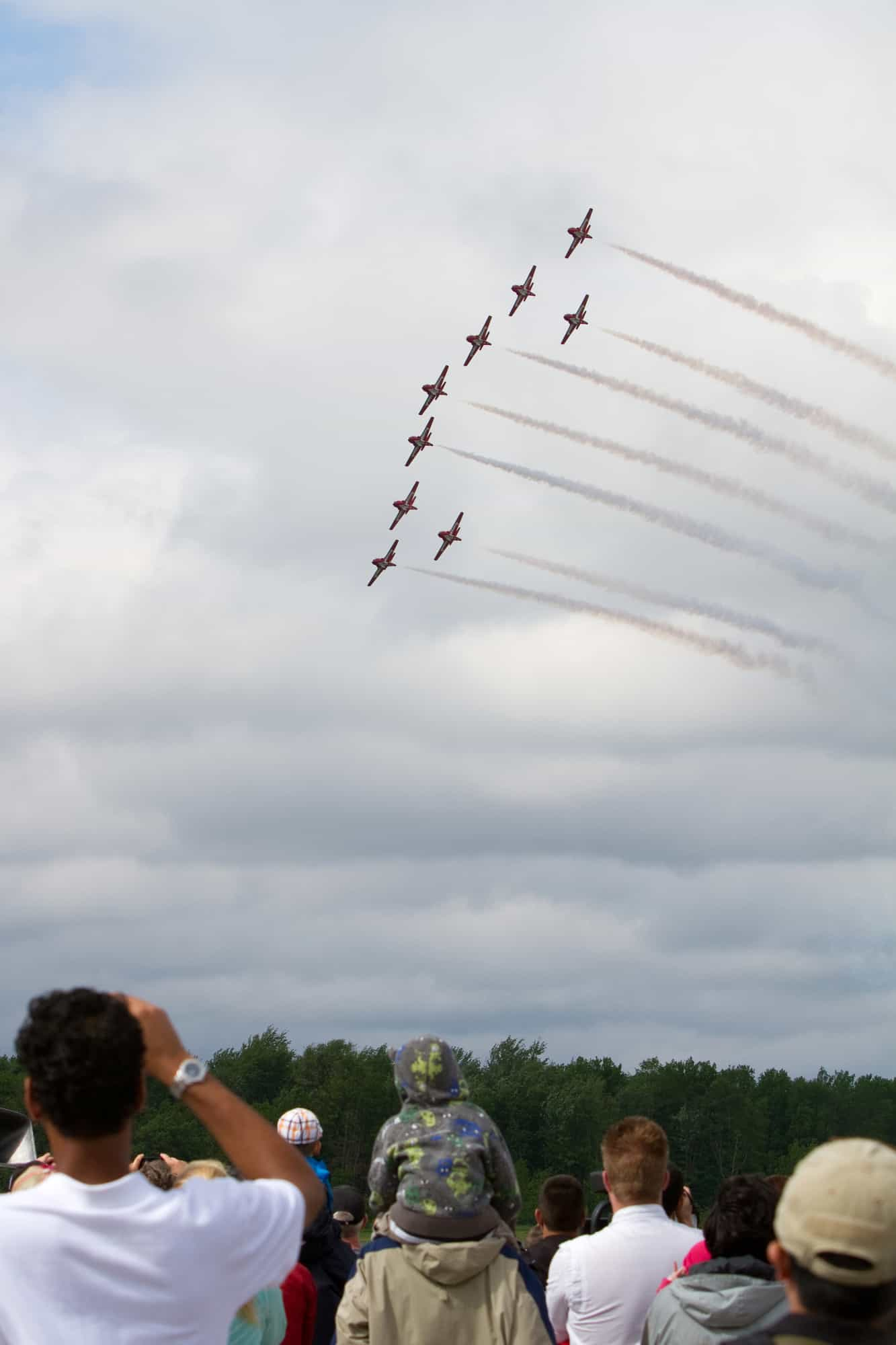 Waterloo Air show 2014 giveaway