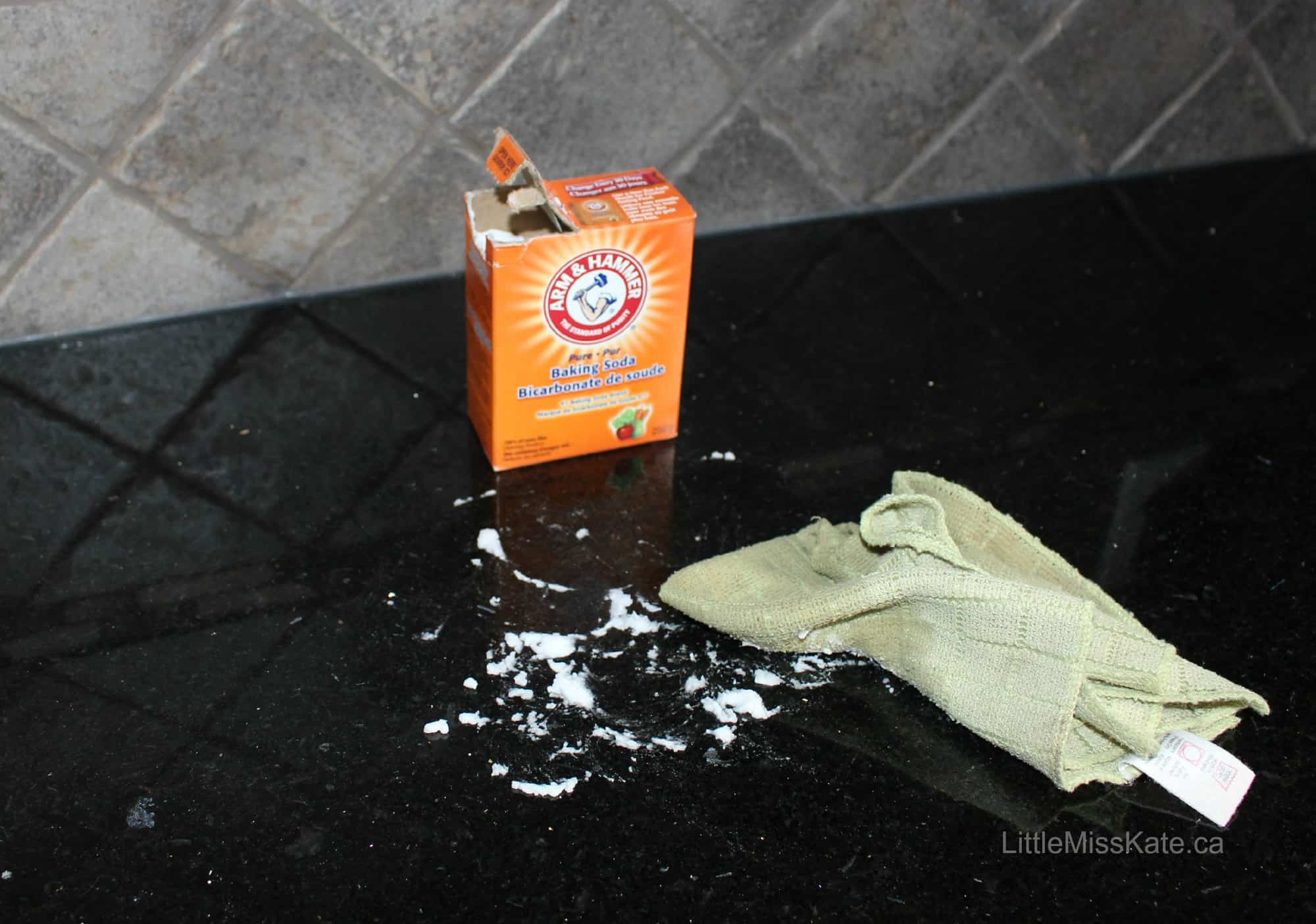 Ways to Clean with Baking Soda counter