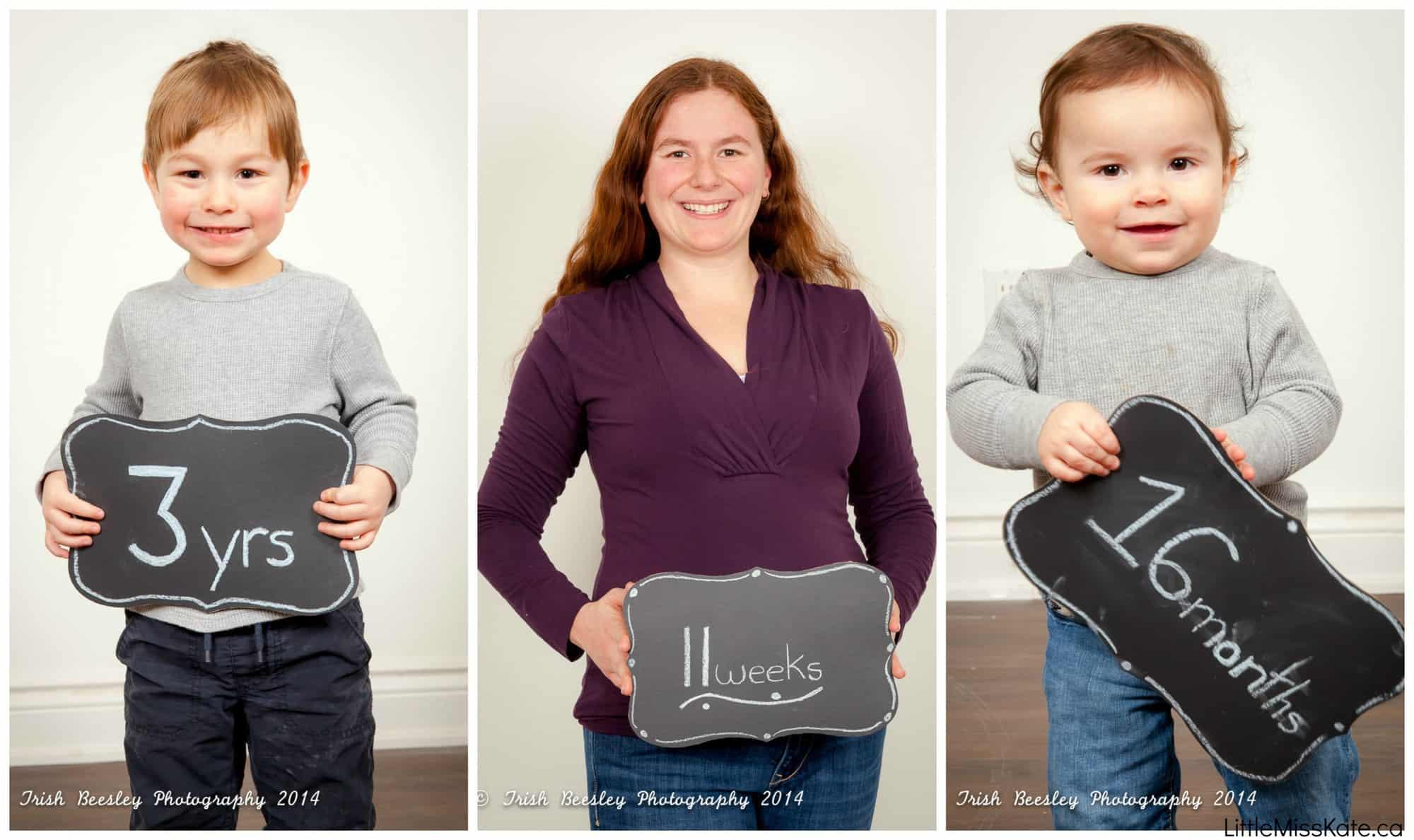 fun ways to announce third pregnancy