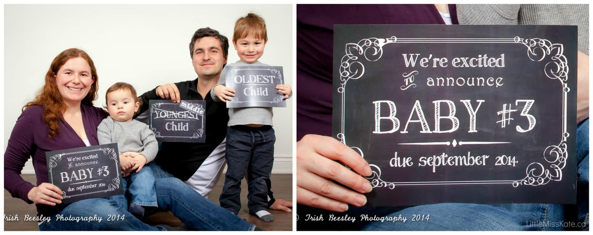Fun And Creative Pregnancy Announcement Ideas