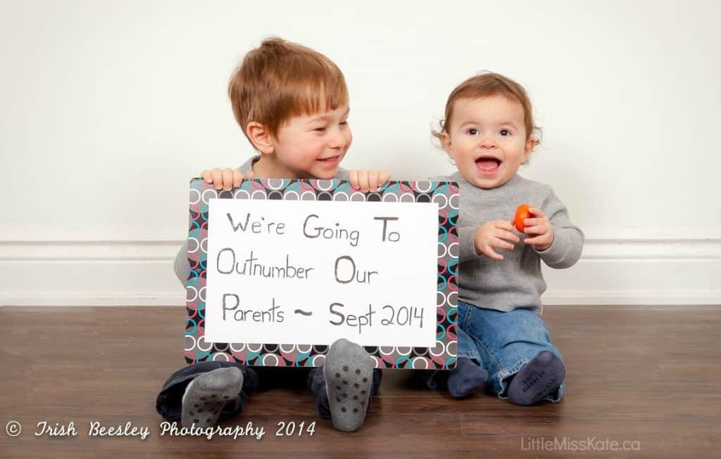 da4d4797eff Pregnancy Announcement Ideas  Fun   Creative Ways to Announce a Third  Pregnancy