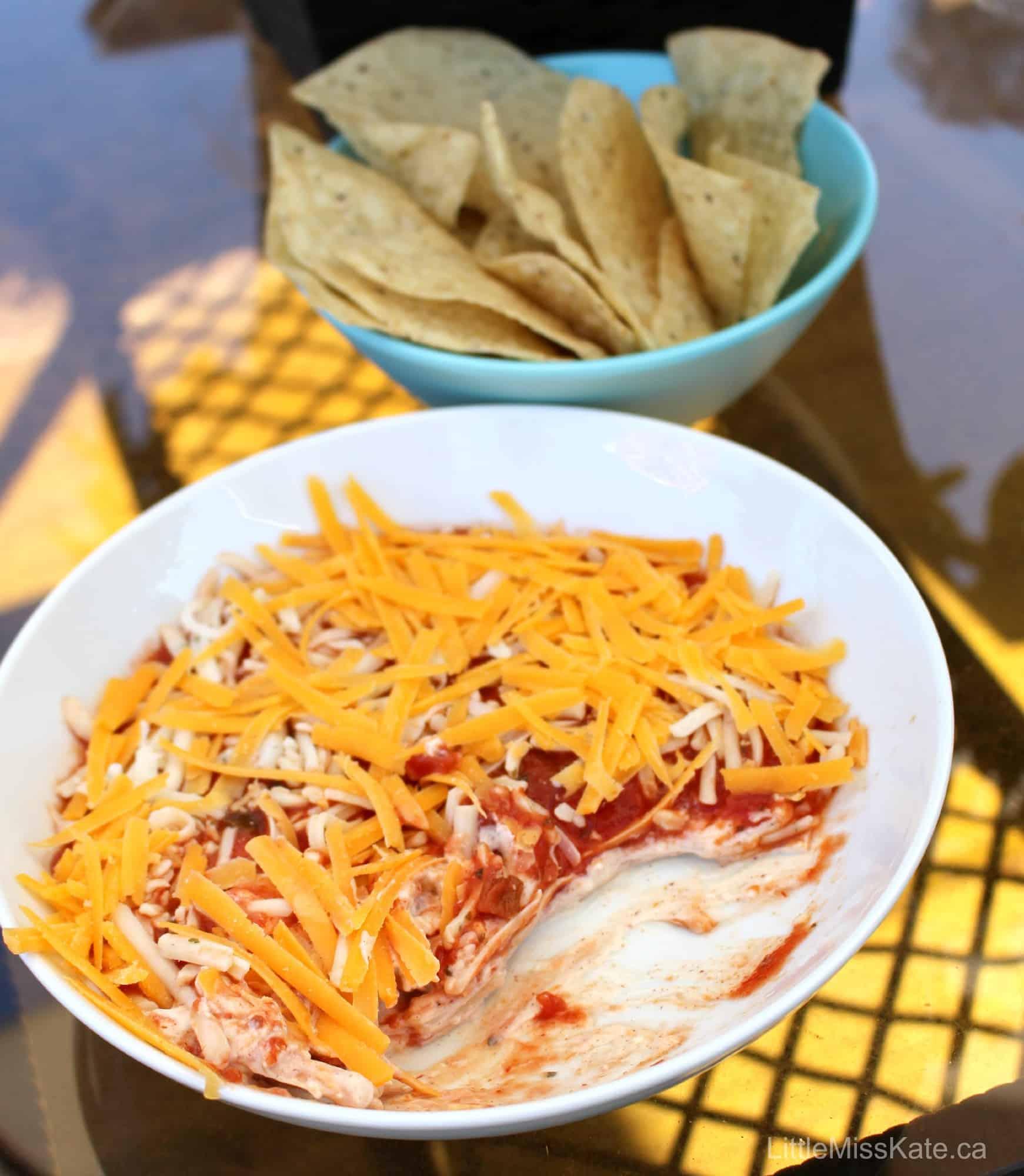 Easy Nacho Dip Recipe – 5 Ingredient Nacho Dip