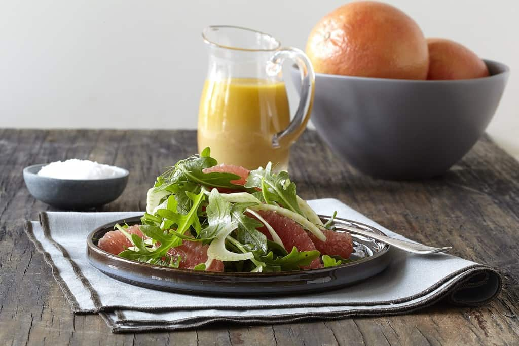 Fennel Salad with Ruby Grapefruit