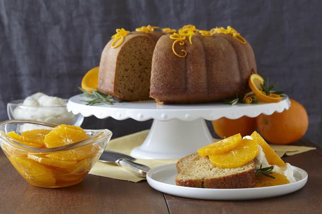 Spiced Orange Cake