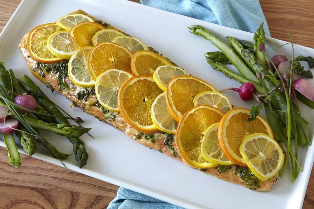 Sunkist Citrus Salmon