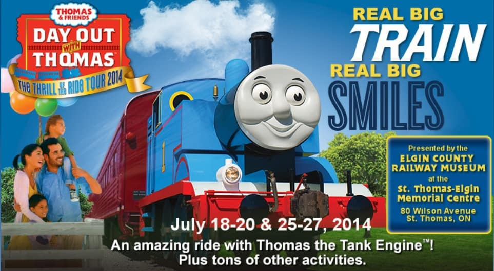 day out with thomas ontario