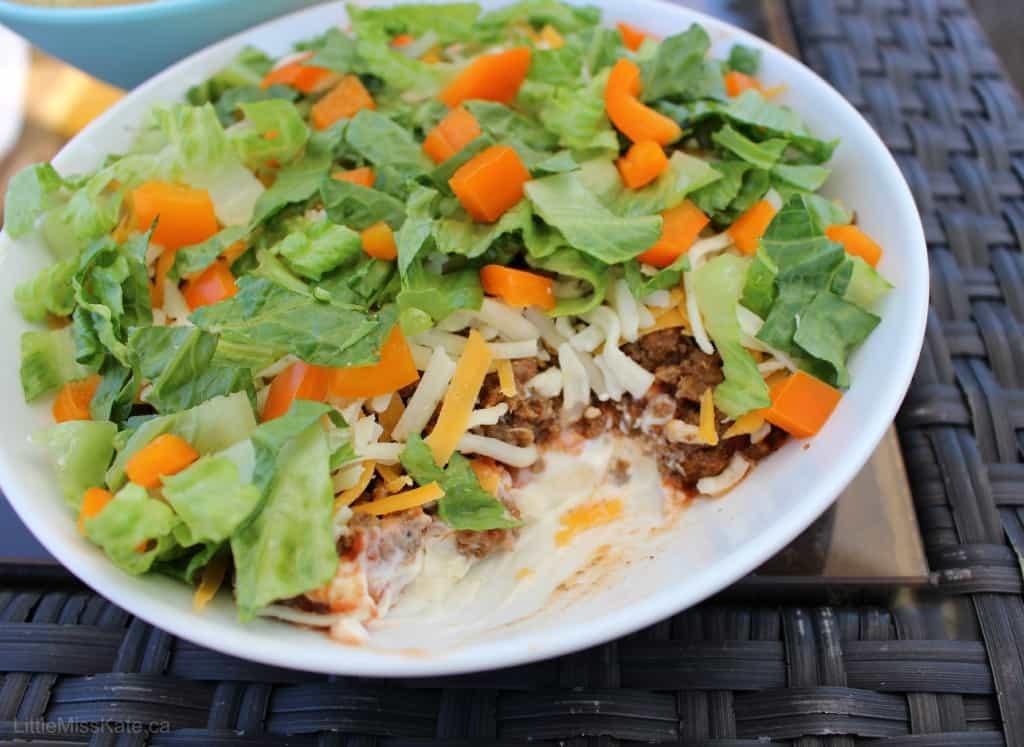 layered Beef Taco Dip Recipes
