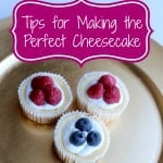 Tips for making the perfect Cheesecake {Giveaway} #CheesecakeoftheYear