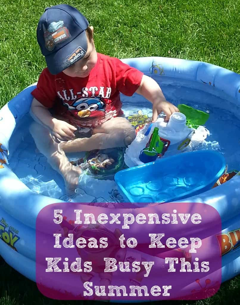 5 5 Inexpensive Ideas to Keep Kids Busy This Summer