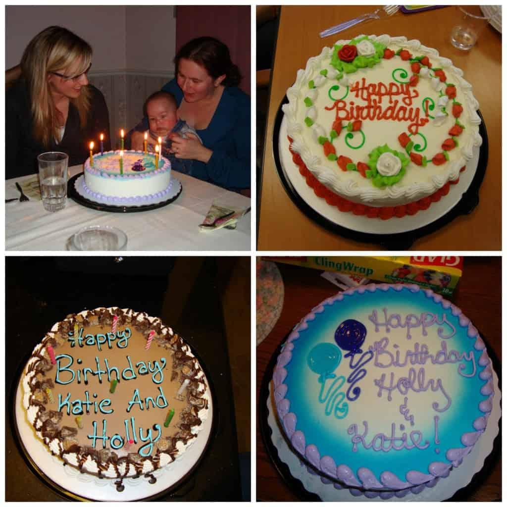 Dairy queen birthday cake