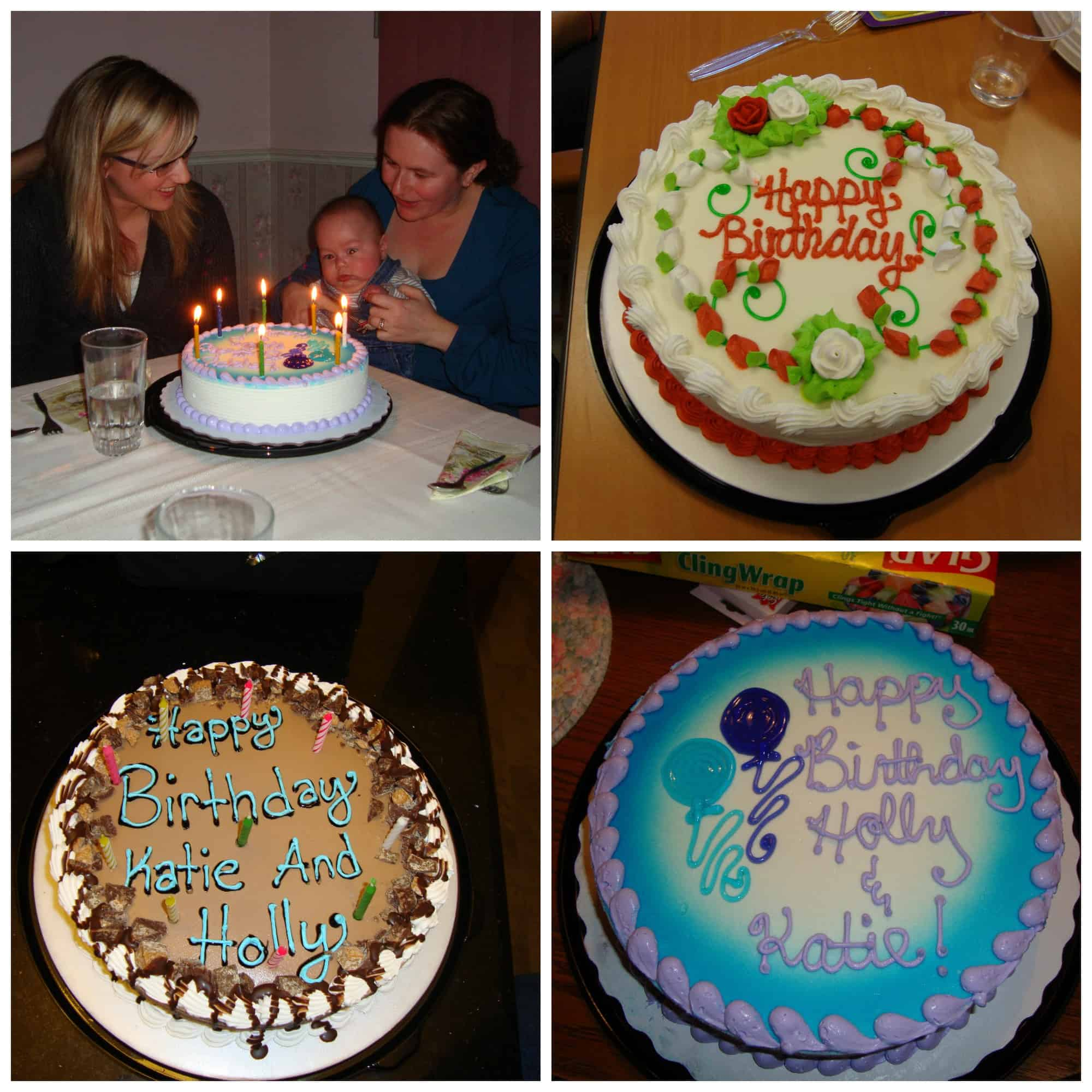 Save Some Of The DQ Cakes I Have Enjoyed For My Birthday Over Years