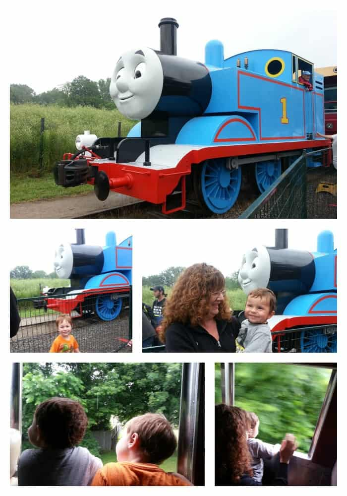 Day out with thomas train ride
