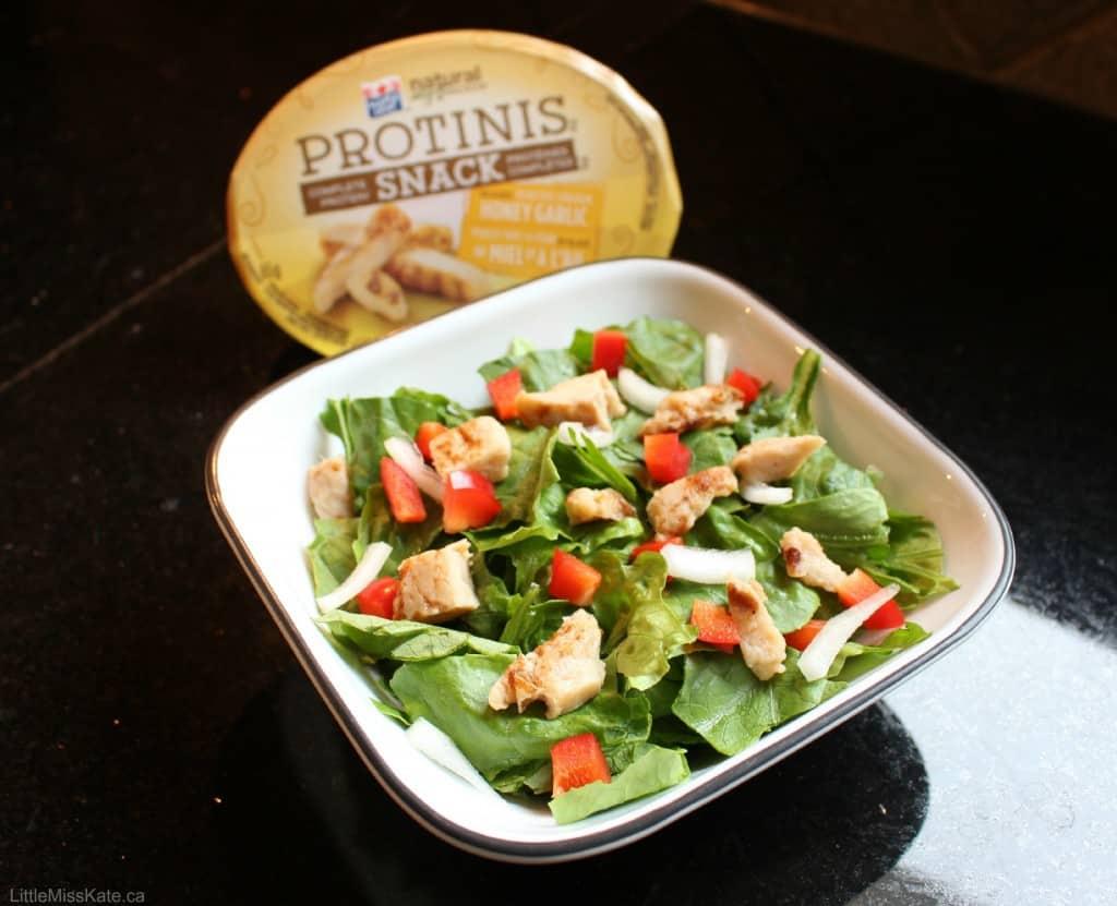 Easy chicken salad recipe #protinis