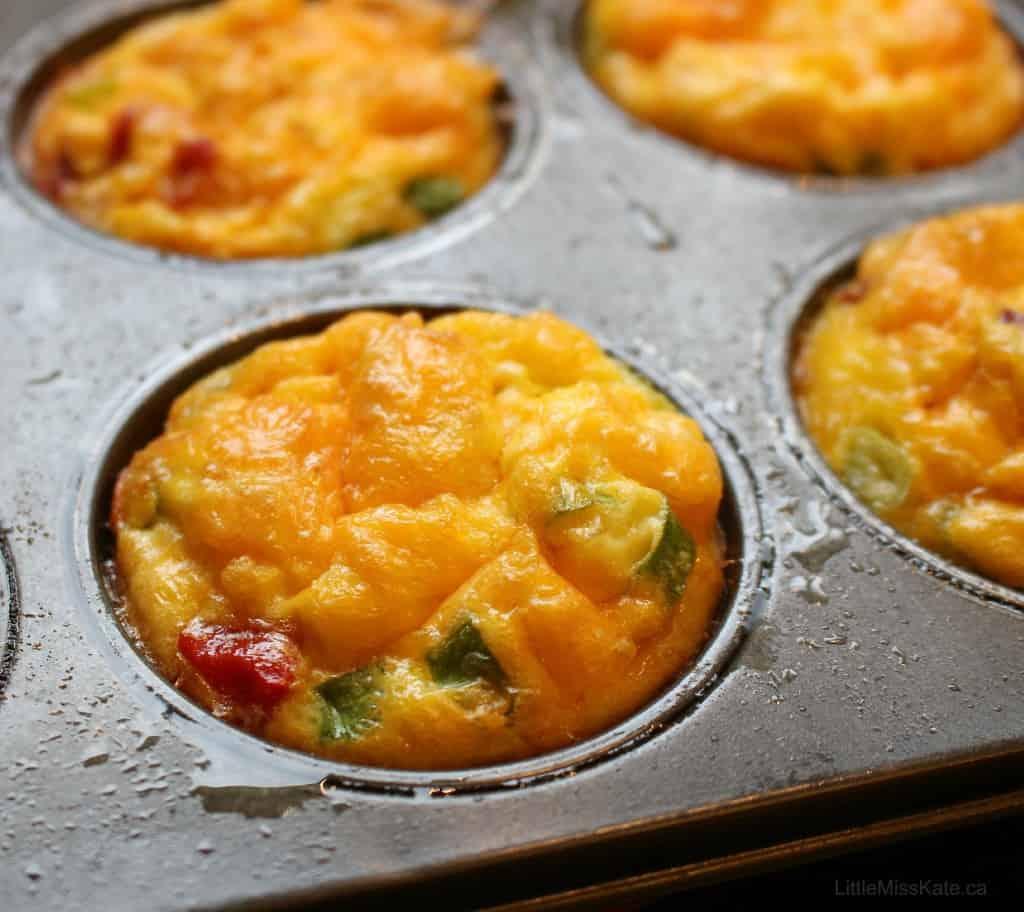 Ham Omelet Muffin Recipe