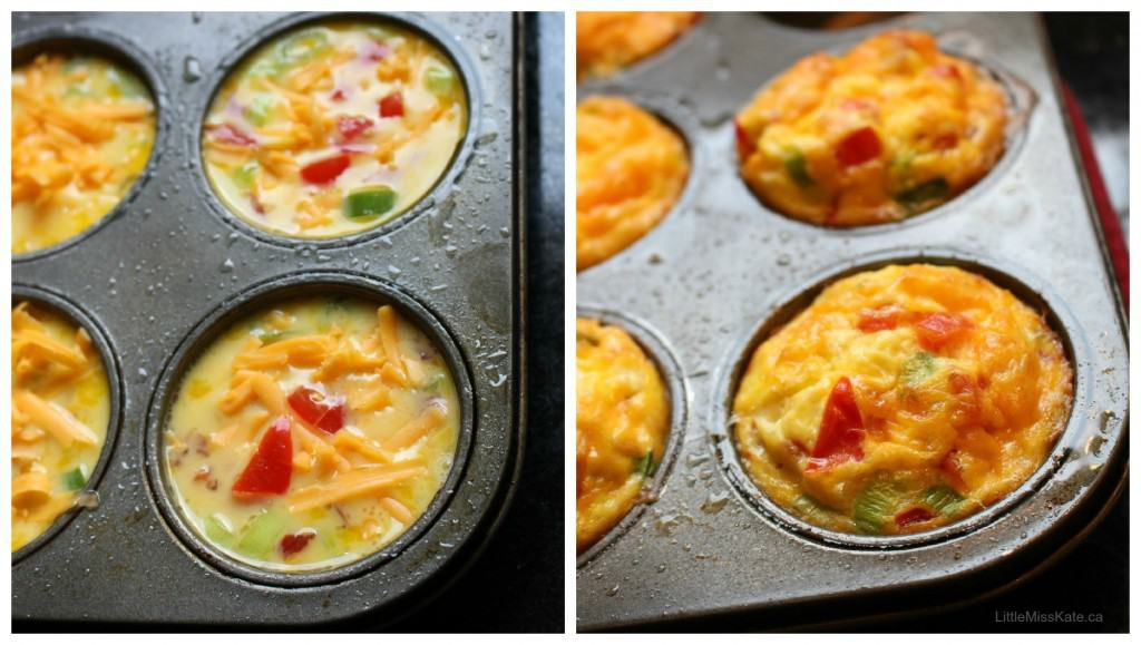Ham and Tomato Egg Breakfast Muffin Recipe