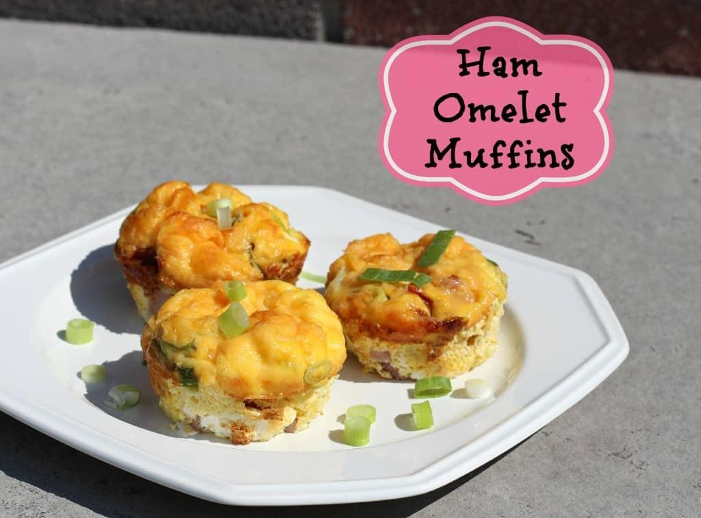Quick Dinner Ideas Ham Omelet Muffin Recipe
