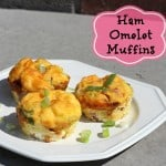 Quick Dinner Ideas: Ham Omelet Muffin Recipe #Dinnerin15